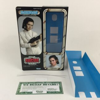 "Custom Vintage Star Wars The Empire Strikes Back 12"" Princess Leia Bespin Escape box and inserts"