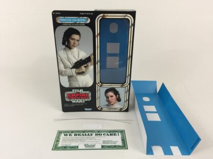 """Custom Vintage Star Wars The Empire Strikes Back 12"""" Princess Leia Bespin Escape box and inserts"""