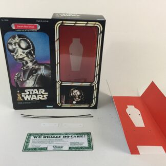 "Custom Vintage Star Wars 12"" Death Star Droid and Mouse Droid box and inserts"