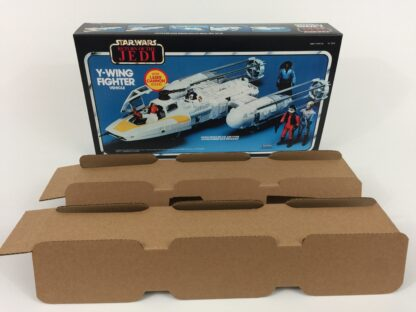 Replacement Vintage Star Wars The Return Of The Jedi Y-Wing box and inserts