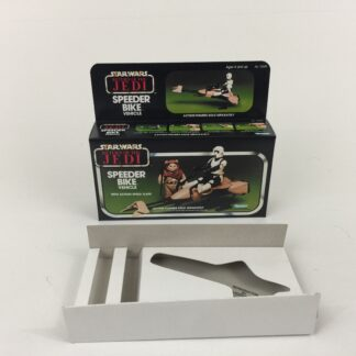 Replacement Vintage Star Wars The Return Of The Jedi Speeder Bike box and inserts