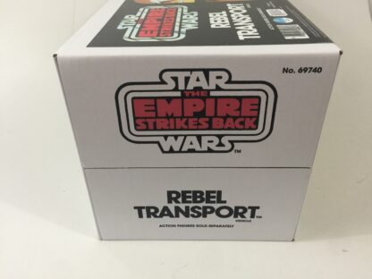 Replacement Vintage Star Wars The Empire Strikes Back Rebel Transport box and inserts Yellow Version