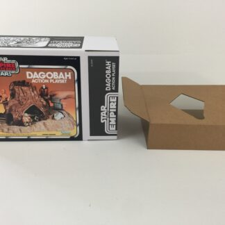 Replacement Vintage Star Wars The Empire Strikes Back Dagobah Action Playset box and inserts