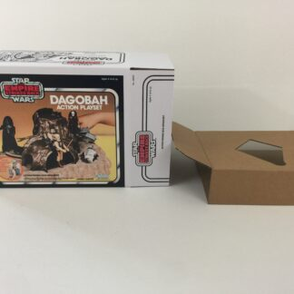 Replacement Vintage Star Wars The Empire Strikes Back Dagobah Action Playset box and inserts Special offer version