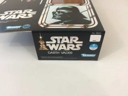 """Replacement Vintage Star Wars 12"""" Darth Vader box and inserts"""