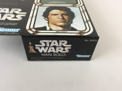 "Replacement Vintage Star Wars 12"" Han Solo box and inserts"