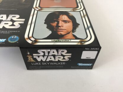 "Replacement Vintage Star Wars 12"" Luke Skywalker box and inserts"
