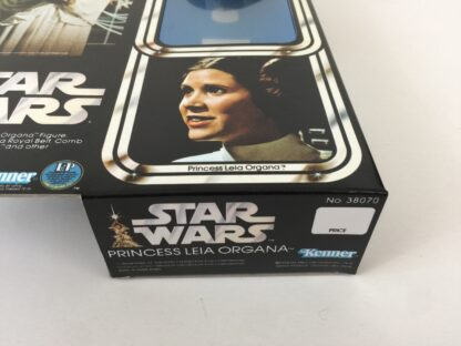 """Replacement Vintage Star Wars 12"""" Princess Leia box and inserts"""