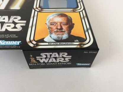 "Replacement Vintage Star Wars 12"" Ben Obi-Wan Kenobi box and inserts"