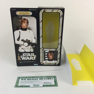 "Custom Vintage Star Wars 12"" Luke Skywalker Stormtrooper Disguise box and inserts"