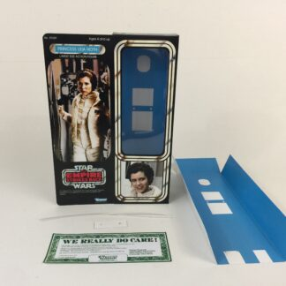 "Custom Vintage Star Wars The Empire Strikes Back 12"" Princess Leia Hoth box and inserts"