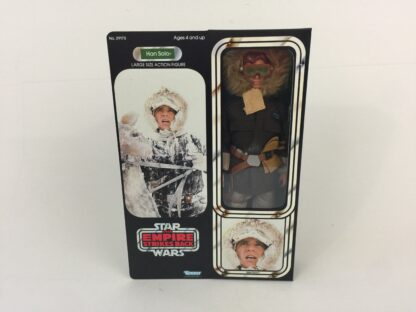 "Reproduction Vintage Star Wars The Empire Strikes Back 12"" Prototype Han Hoth box and inserts"