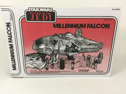 Replacement Vintage Star Wars The Return Of The Jedi Millennium Falcon box and inserts
