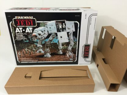 Replacement Vintage Star Wars The Return Of The Jedi AT-AT box and inserts