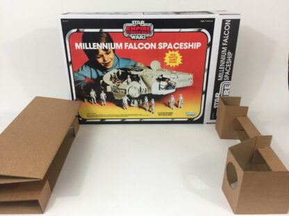 Replacement Vintage Star Wars The Empire Strikes Back Millennium Falcon box and inserts