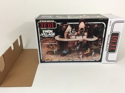 Replacement Vintage Star Wars The Return Of The Jedi Ewok Village box and inserts