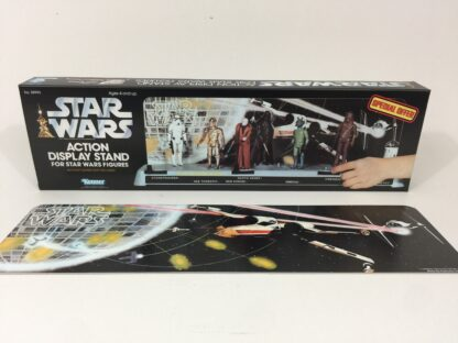 Replacement Vintage Star Wars Display Stand Box and Backdrop