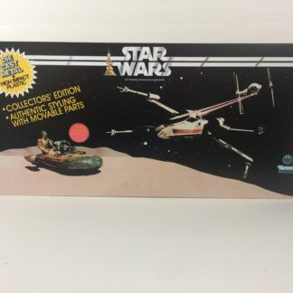 Replacemant Vintage Star Wars Die Cast 1st Edition store shop display header