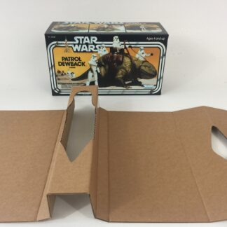 Replacement Vintage Star Wars Dewback box and inserts