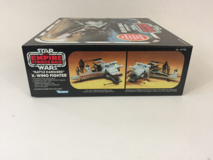 Replacement Vintage Star Wars kenner The Empire Strikes Back Battle Damaged X-Wing box and inserts