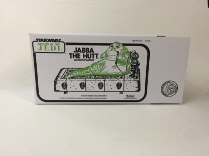 Replacement Vintage Star Wars The Return Of The Jedi line art Jabba The Hutt Action Playset box
