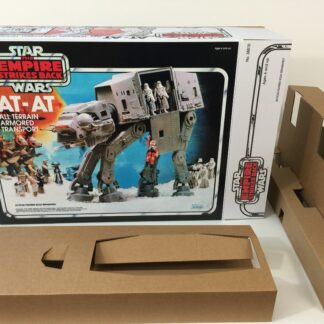Replacement Vintage Star Wars The Empire Strikes Back At-At box and inserts
