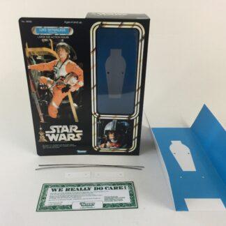 "Custom Vintage Star Wars 12"" Luke Skywalker X-Wing Pilot box and inserts for modern figure"
