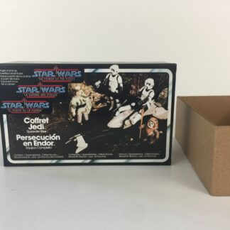 Replacement Vintage Star Wars The Power Of The Force Endor Chase box and inserts