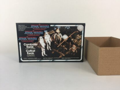 Replacement Vintage Star Wars The Power Of The Force Ewok Combat Playpack box and inserts