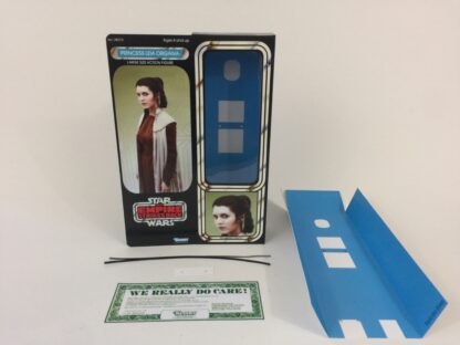 "Reproduction Vintage Star Wars The Empire Strikes Back 12"" Prototype Princess Leia Bespin box and"