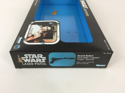 Custom Vintage Star Wars Princess Leia Laser Blaster Pistol box and inserts