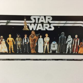 Custom Vintage Star Wars Early Bird Mail Away display backdrop and sticker