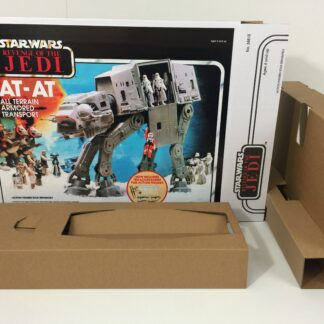 Reproduction Custom Prototype Star Wars The Revenge Of The Jedi AT-AT box and inserts