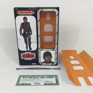 "Reproduction Vintage Star Wars The Empire Strikes Back 12"" Prototype Luke Skywalker Bespin box and inserts"