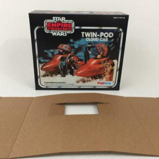 Replacement Vintage Star Wars The Empire Strikes Back Palitoy Cloud Car box and inserts