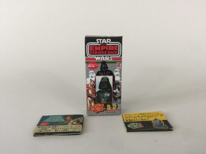 Replacement Vintage Star Wars The Empire Strikes Back Popy S-2 Darth Vader box and 2 x catalogs / catalogues