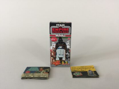 Replacement Vintage Star Wars The Empire Strikes Back Popy S-3 R2-D2 box and 2 x catalogs / catalogues