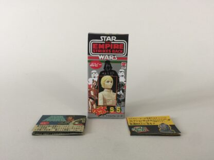 Replacement Vintage Star Wars The Empire Strikes Back Popy S-5 Luke Skywalker bespin box and 2 x catalogs / catalogues
