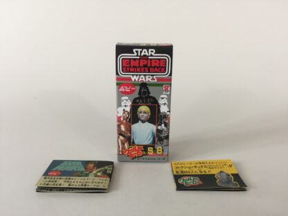 Replacement Vintage Star Wars The Empire Strikes Back Popy S-8 Luke Skywalker box and 2 x catalogs / catalogues