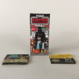 Replacement Vintage Star Wars The Empire Strikes Back Popy S-9 Han Solo box and 2 x catalogs / catalogues