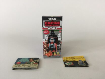 Replacement Vintage Star Wars The Empire Strikes Back Popy S-13 Luke Skywalker X-wing pilot box and 2 x catalogs / catalogues