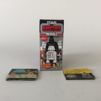 Replacement Vintage Star Wars The Empire Strikes Back Popy S-14 R5-D4 box and 2 x catalogs / catalogues