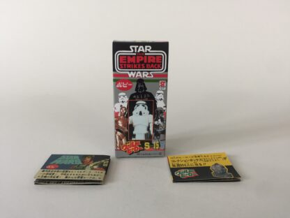 Replacement Vintage Star Wars The Empire Strikes Back Popy S-15 Stormtrooper box and 2 x catalogs / catalogues