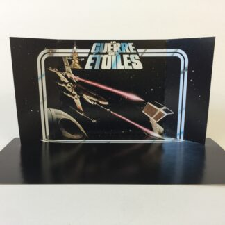 Reproduction Vintage Star Wars prototype La Guerre Des Etoiles first 12 display backdrop