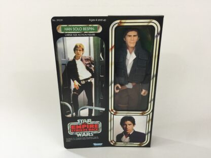 "Custom Vintage Star Wars The Empire Strikes Back 12"" Han Solo Bespin box and inserts for the modern figure"