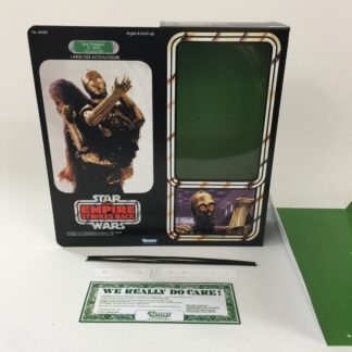 "Custom Vintage Star Wars The Empire Strikes Back 12"" C-3PO Removable Limbs box and inserts"