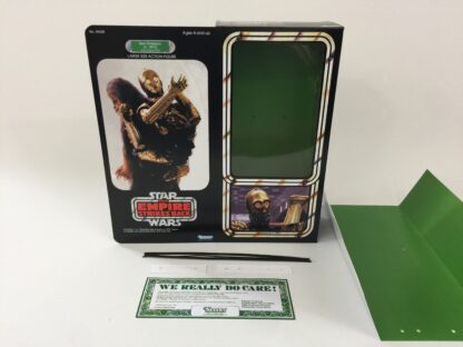 """Custom Vintage Star Wars The Empire Strikes Back 12"""" C-3PO Removable Limbs box and inserts"""