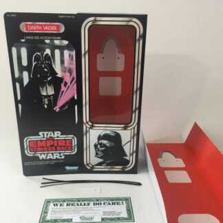 "Reproduction Vintage Star Wars The Empire Strikes Back 12"" Prototype Darth Vader box and inserts"