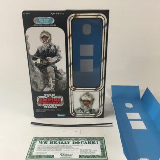 "Custom Vintage Star Wars The Empire Strikes Back 12"" Han Solo Hoth box and inserts"