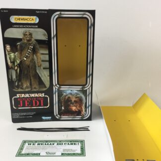 "Custom Vintage Star Wars The Return Of The Jedi 12"" chewbacca box and inserts"